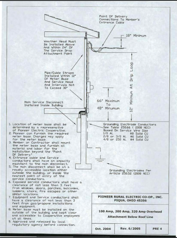 New Service/Upgrades | Pioneer Electric Cooperative on 200 amp cable, 50 amp wiring diagram, bass amp wiring diagram, amp meter wiring diagram, 100 amp wiring diagram, 200 amp fuse, 30 amp wiring diagram, septic system diagram, deck diagram, flooring diagram, 125 amp wiring diagram, 20 amp wiring diagram, 200 amp generator, 200 amp service, plumbing diagram, 200 amp wire, 200 amp transfer switch, 200 amp alternator,